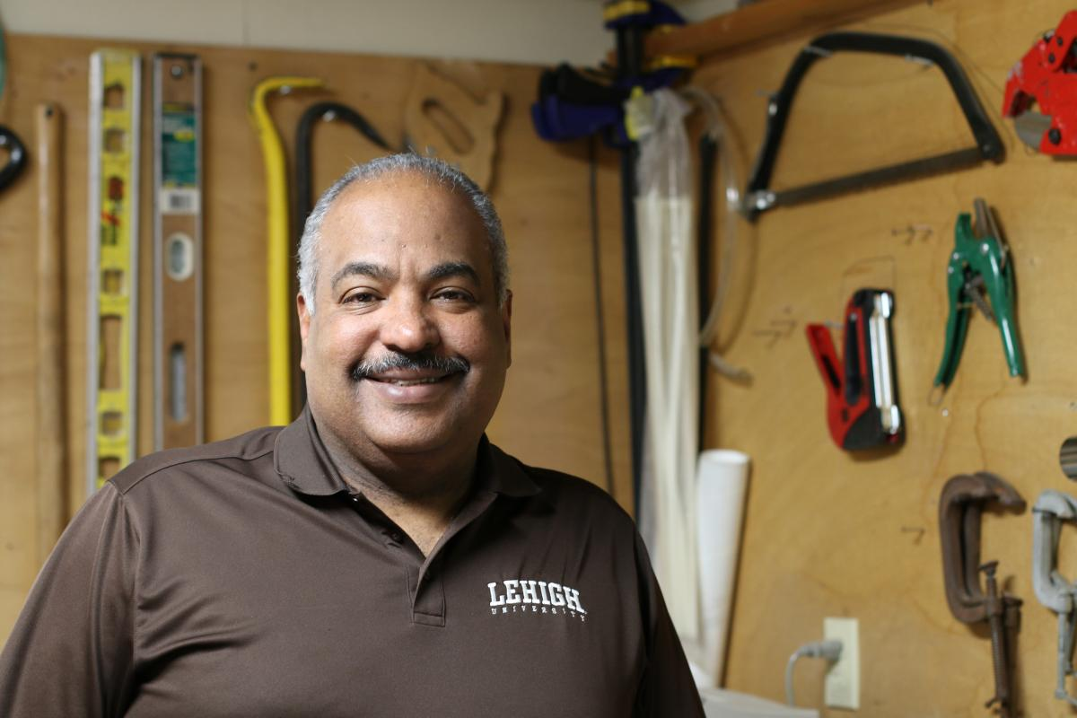 Assistant Director of Facilities Services Fred Colón